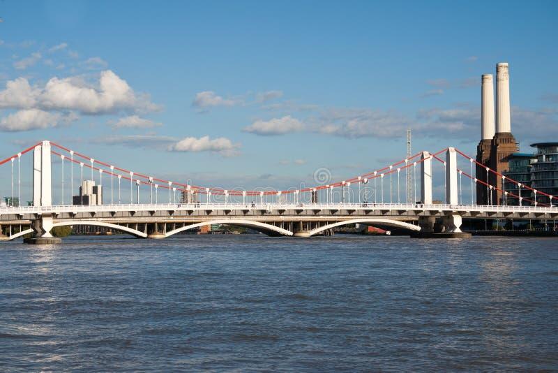 Chelsea Bridge royalty free stock images