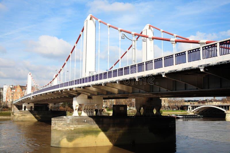 Chelsea Bridge imagen de archivo