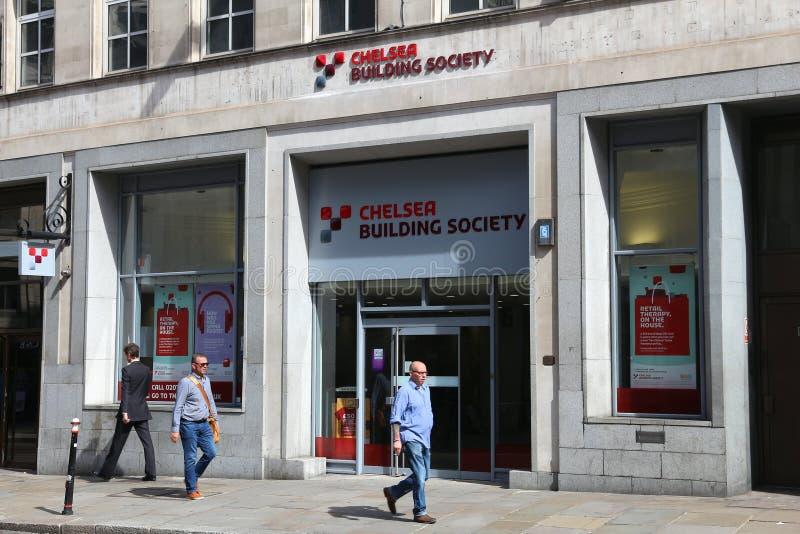 Chelsea Building Society royalty-vrije stock fotografie