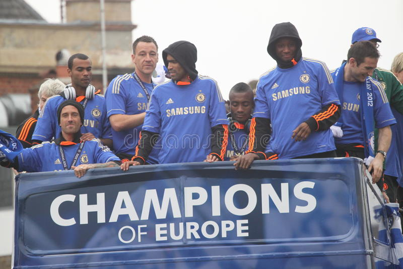 Download Chelsea - European Champions Editorial Image - Image: 24865040