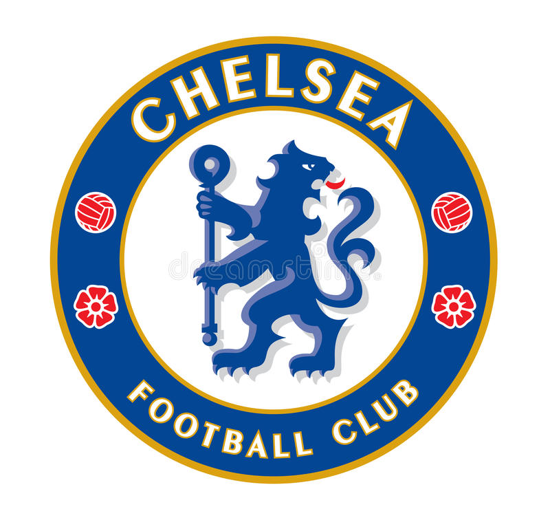 Chelsea F C stock illustratie
