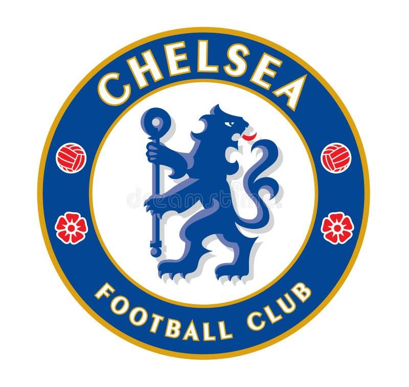 Chelsea F C ilustração stock