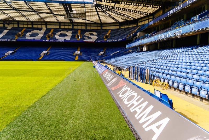 Chelsea Fc Stamford Bridge Stadium Editorial Image Image Of Capacity Building 56377755