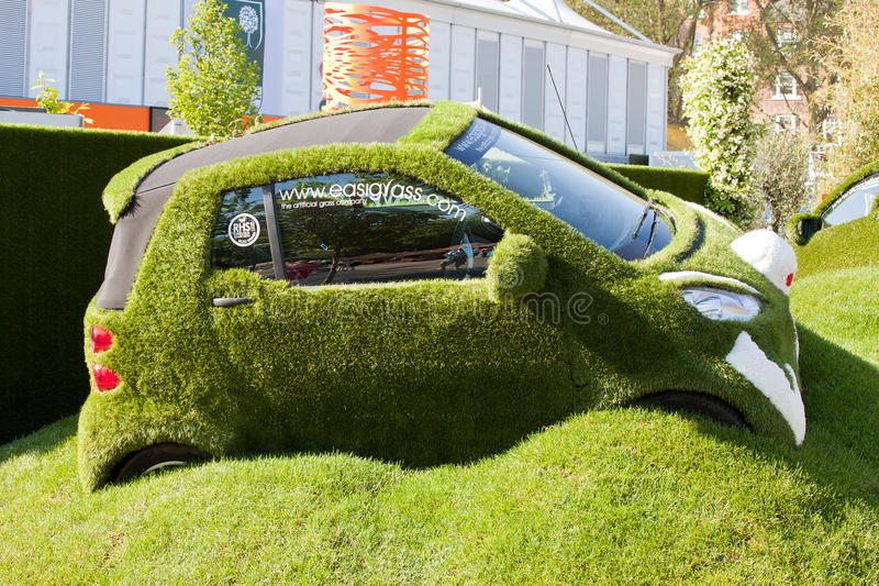 Chelsea Flower Show - la voiture d'Easibug image stock