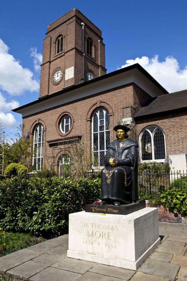 chelsea gammala kyrkliga london fotografering för bildbyråer