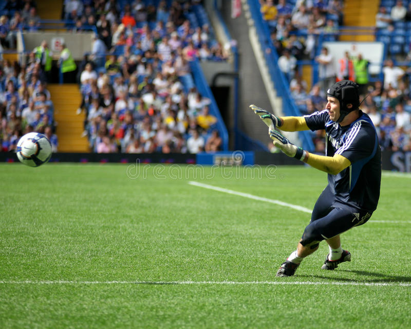 Chelsea: Petr Cech royalty free stock image