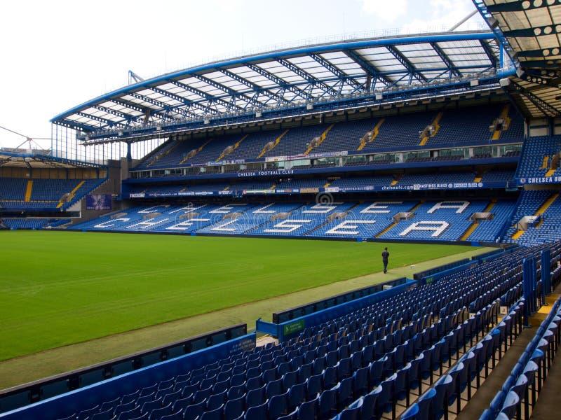 Chelsea Stamford Bridge Stadium stock photos
