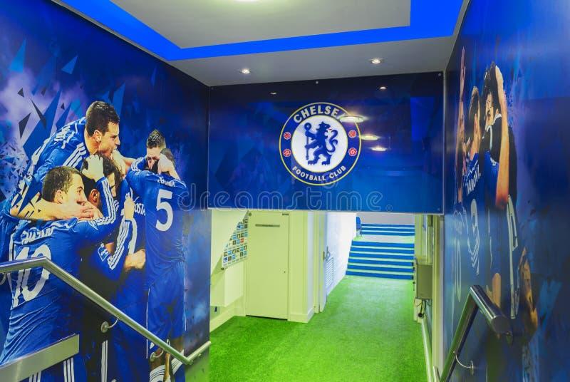 Chelsea Tunnel stock photo