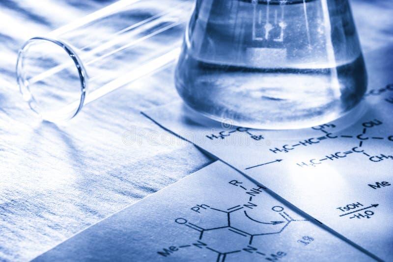 Chemia w tonowaniu obraz stock