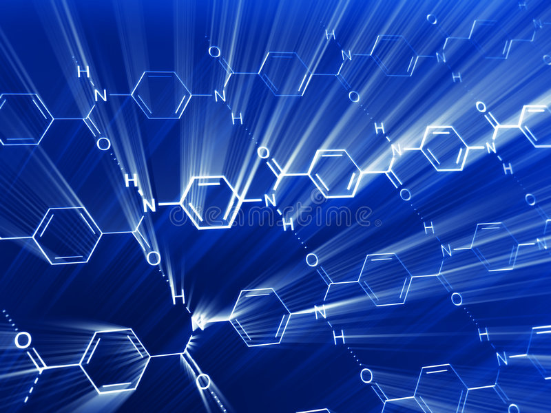 Download Chemical background stock illustration. Illustration of model - 6266836