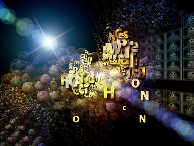 Download Chemical Burst stock illustration. Image of abstract - 27134939