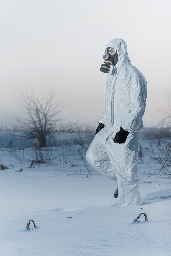 Download After chemical catastrophe stock image. Image of gasmask - 35092771