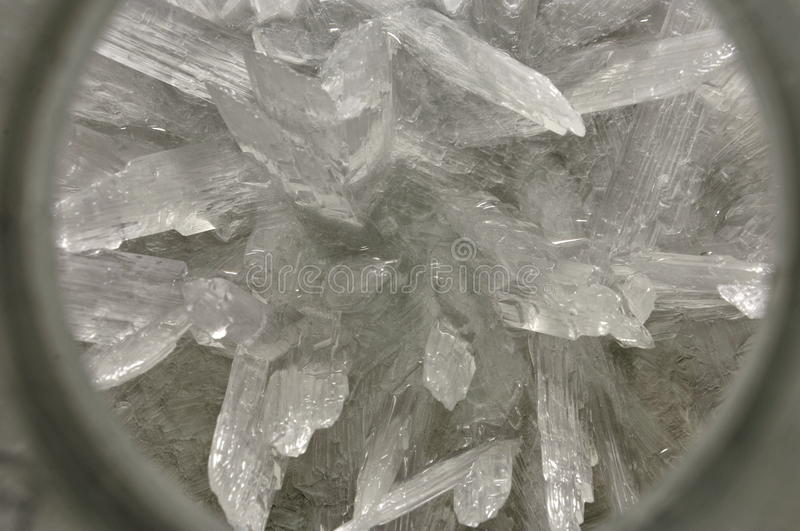 Chemical Crystals Royalty Free Stock Images