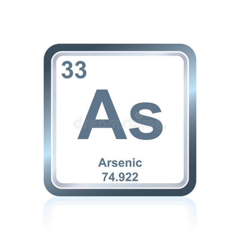 Periodic Table what family does arsenic belong to on the periodic table : Chemical Element Arsenic From The Periodic Table Stock ...
