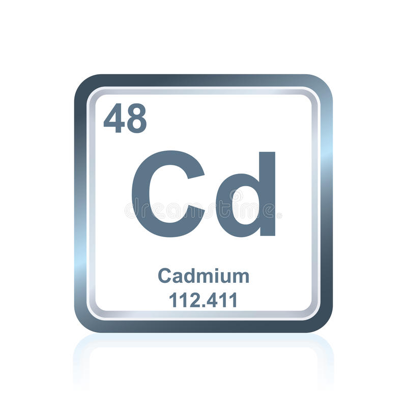 Chemical element cadmium from the periodic table stock illustration download chemical element cadmium from the periodic table stock illustration illustration of mendeleev atom urtaz Images