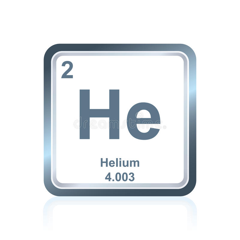 Chemical element helium from the periodic table stock vector download chemical element helium from the periodic table stock vector illustration of futuristic chemistry urtaz Choice Image