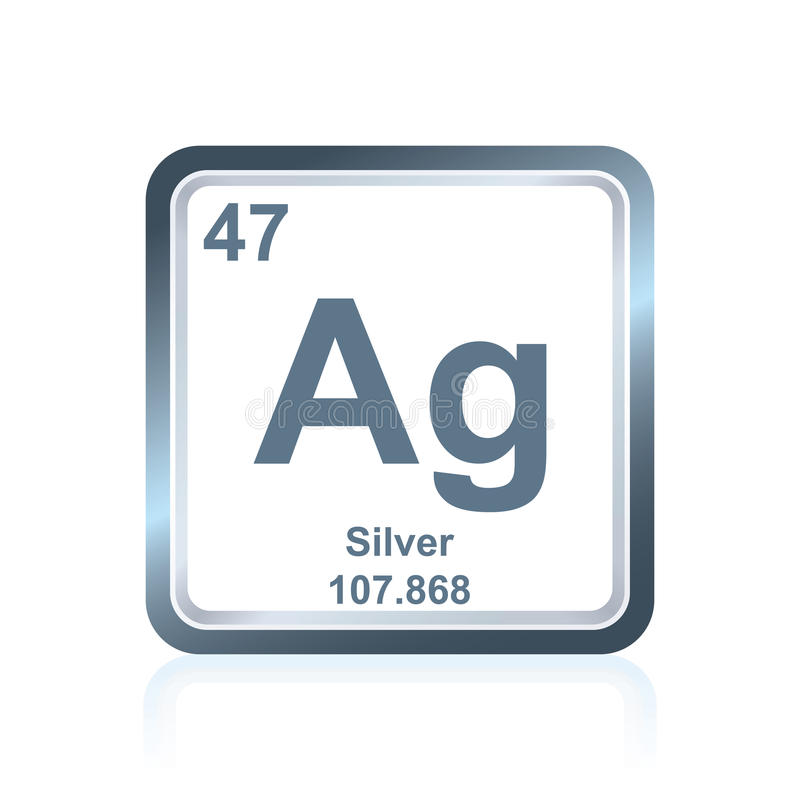 Chemical element silver from the periodic table stock illustration download chemical element silver from the periodic table stock illustration image 94234084 urtaz