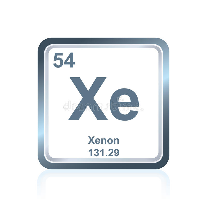 Chemical element xenon from the periodic table stock illustration download chemical element xenon from the periodic table stock illustration illustration of graphic symbol urtaz Gallery