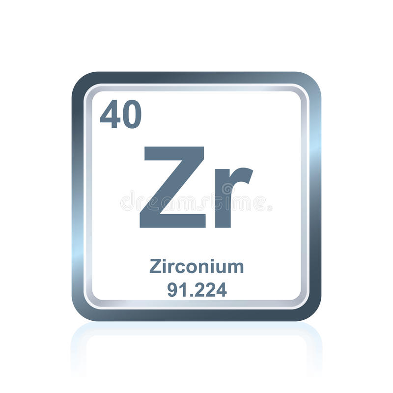 Chemical element zirconium from the periodic table stock download chemical element zirconium from the periodic table stock illustration illustration of modern representation urtaz Image collections