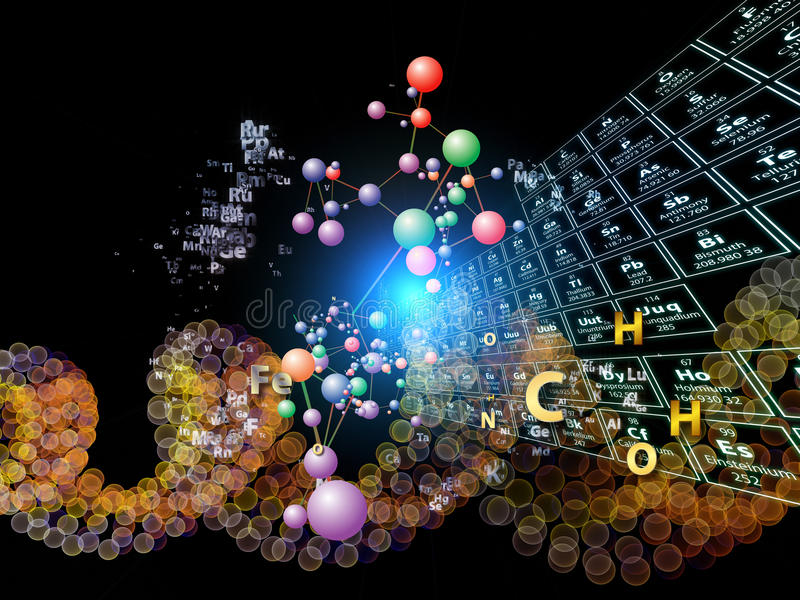 Download Chemical Elements Abstraction Stock Illustration - Image: 27134911