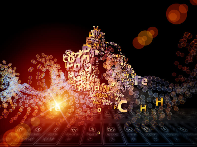 Download Chemical Elements Backdrop Royalty Free Stock Photos - Image: 28407888
