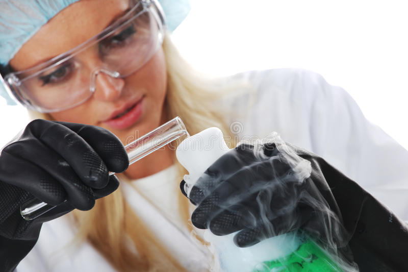 Download Chemical experiment stock image. Image of beaker, chemist - 29030501