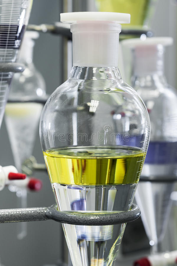 Free Chemical Experiment Test Stock Image - 26136421