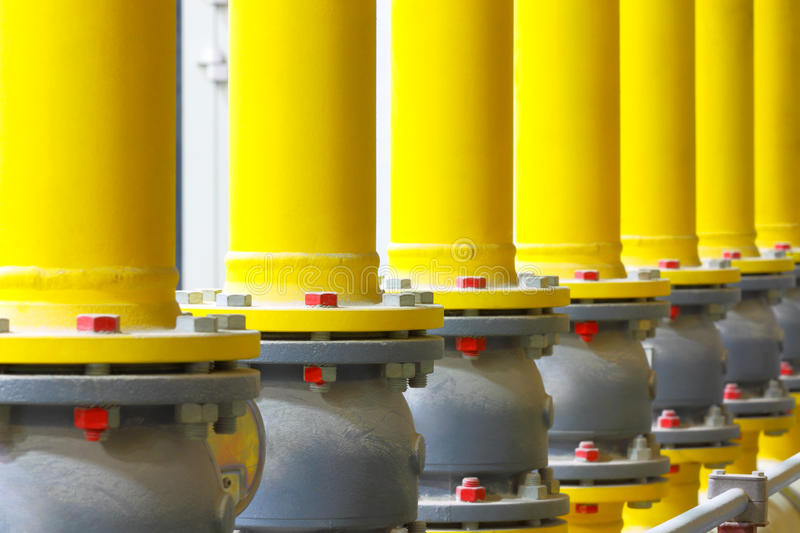 Chemical factory. stock image