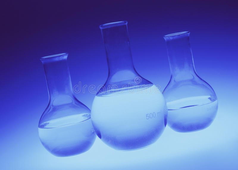 Download Chemical Flasks - Laboratory Glassware Stock Image - Image: 17305137