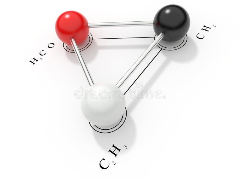 Download Chemical formula 3D stock illustration. Image of part - 17868237