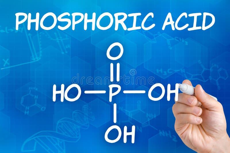 Chemical Formula Of Phosphoric Acid Stock Photo Image Of Food