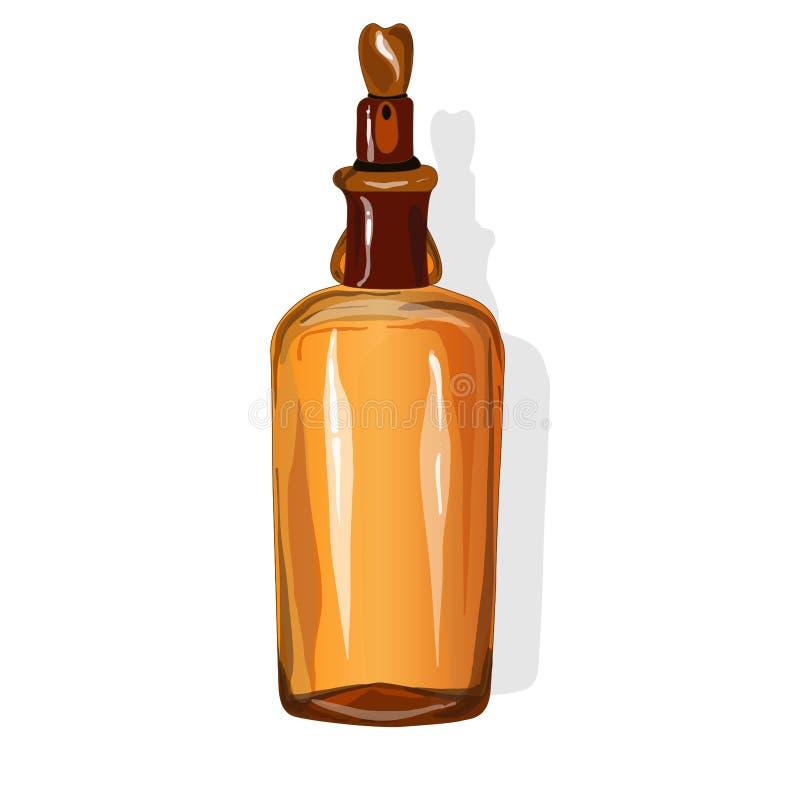Download Chemical Glass Bottle Vintage Stock Vector - Image: 83714162