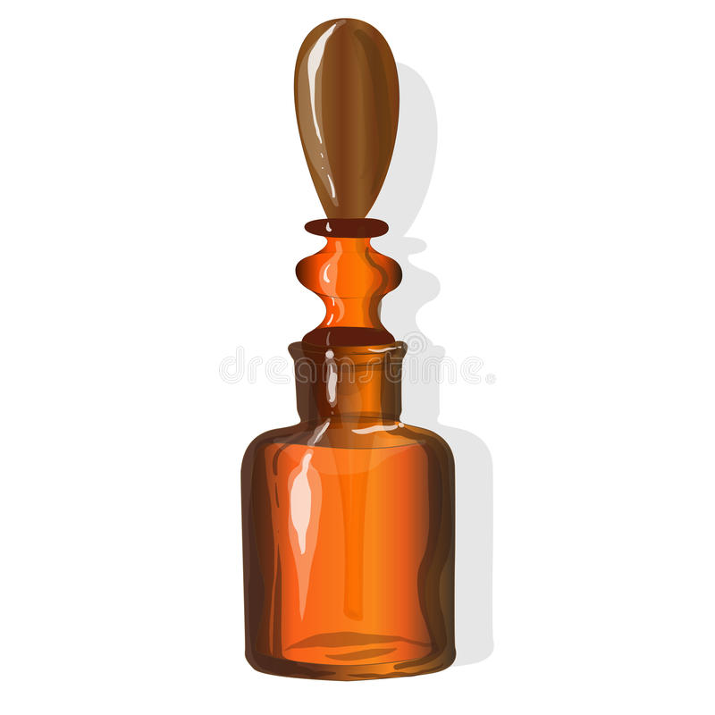 Download Chemical Glass Bottle Vintage Stock Vector - Image: 83714685