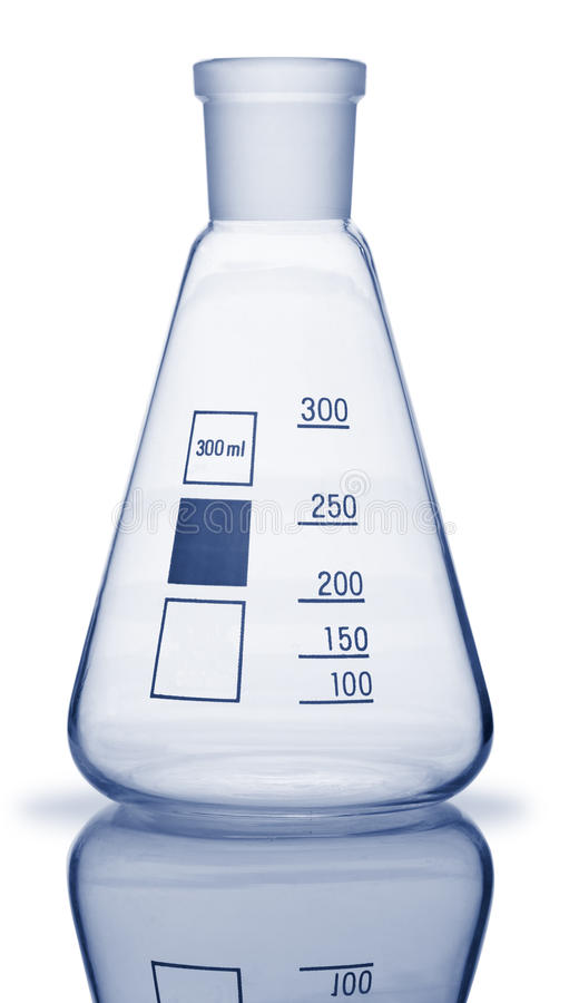 Download Chemical glass equipment stock image. Image of color - 25413177