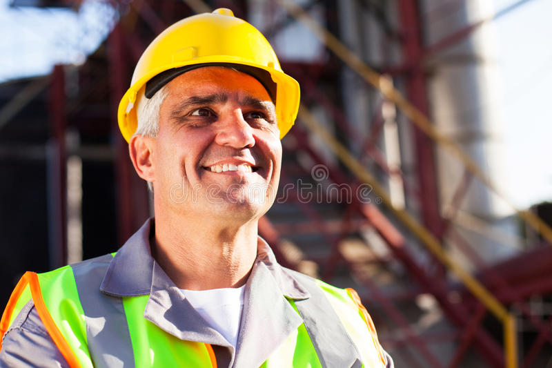 Chemical industry worker stock images