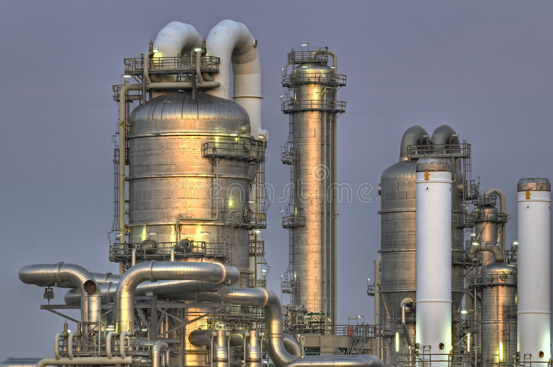 Chemical Installation royalty free stock photography