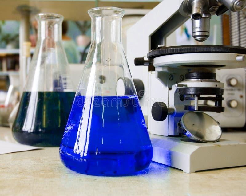 chemical laboratorium arkivfoto
