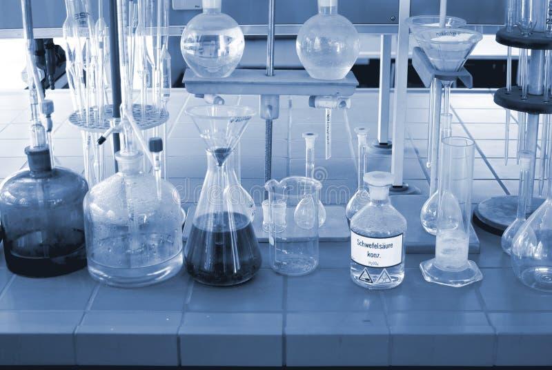 chemical laboratorium royaltyfri foto