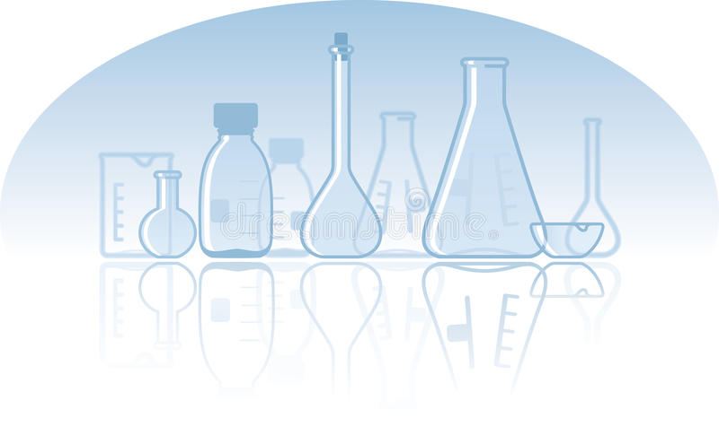 Download Chemical Laboratory Background Stock Vector - Illustration of medicine, chemistry: 13789183