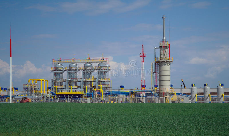 Download Chemical manufacturing. stock photo. Image of corporate - 25125562