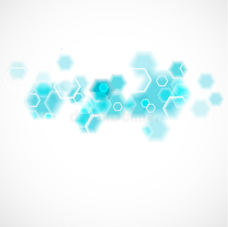 Chemical and molecular concept template background, illustration royalty free illustration
