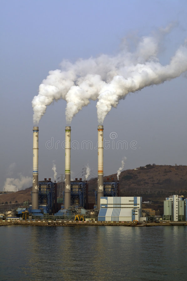 Download Chemical Plant/power Station Air Pollutions Stock Photo - Image of power, climate: 8217198