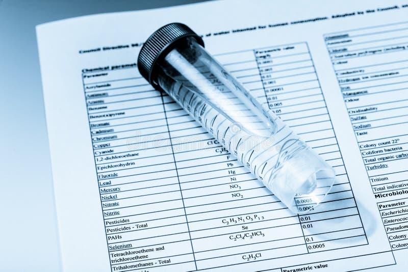 chemical prov arkivfoton