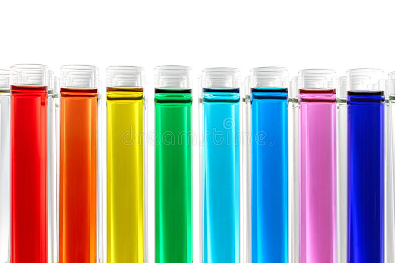 Chemical reaction stock images