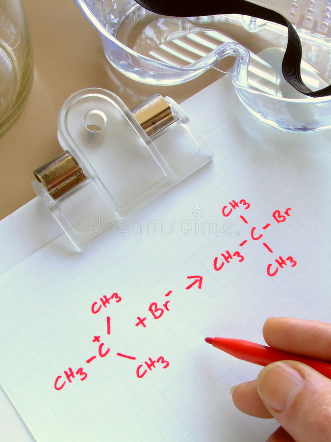 Download Chemical Reaction stock image. Image of formulae, experimentation - 5657391