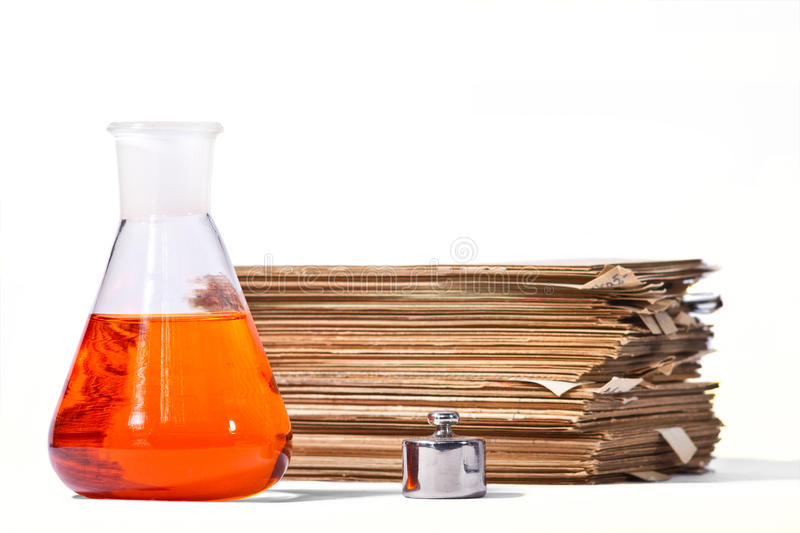 Download Chemical setup stock image. Image of research, glassware - 28733913