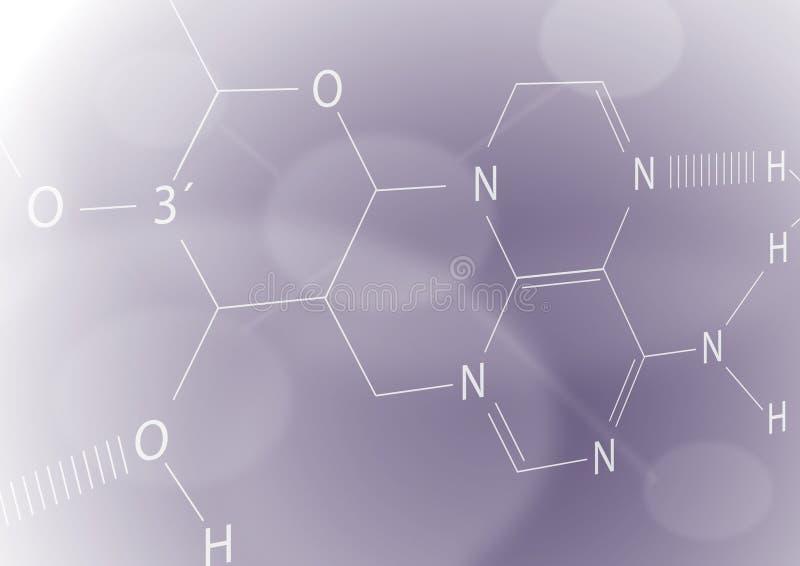 Chemical sheet vector illustration