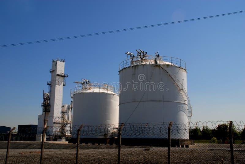 Chemical Storage Stock Image
