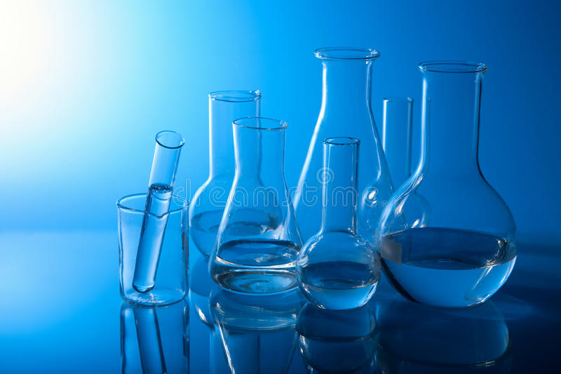 chemical utrustninglaboratorium arkivfoto