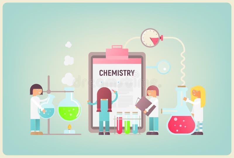 chemie vektor abbildung